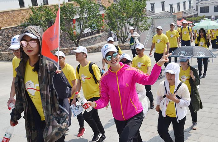 2017年5月员工登山活动